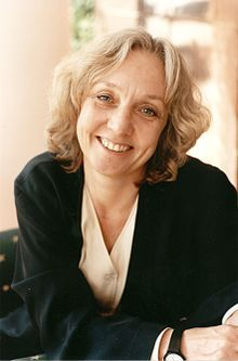 Anne Fine, (born 1947) is a writer, best known for children's books although she also writes for adults. Fine has written more than fifty children's books, including two winners of the annual Carnegie Medal . She was twice the Children's Author of the Year. Her books for older children include Madame Doubtfire (1987), a satirical novel that Twentieth Century Fox filmed as Mrs. Doubtfire, starring Robin Williams. Her books for middle children include Bill's New Frock (1989).