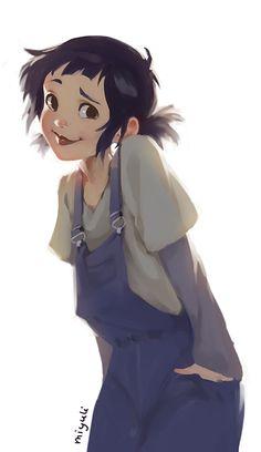 miyuli (A random character and a close up! Photographic...)