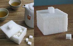 Sugar Cube Sugar Bowl