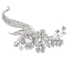 Bouquet of Extravagance Brooch #weddingstyle