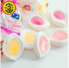 wholesale Free shipping stuffed marshmallows marshmallows peach flavor 54g imported china food
