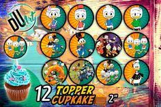 JAKE AND THE NEVERLAND PIRATES  EDIBLE RICE WAFER PAPER CUP CAKE TOPPER X30