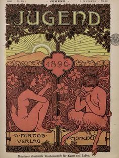 """Jugend ("""" Juventude """" em alemão) foi uma revista de arte alemã que foi criada no final do século XIX."""