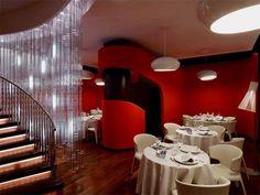 Restaurant - Interior Design Restaurant Oth Sombath by Jouin Manku & Patrick Jouin in Paris, France