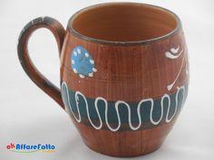 H 594 TAZZA IN CERAMICA DECORATA CON MANICO - http://www.okaffarefattofrascati.com/?product=h-594-tazza-in-ceramica-decorata-con-manico