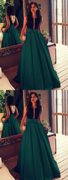 Black Beaded Top Bow Sashes Floor Length Satin Prom Dresses 2018 – slayingdress Long Satin floor length prom evening dresses with black top Prom Dresses 2018, Backless Prom Dresses, Evening Dresses, Wedding Dresses, Green Party Dress, Nice Dresses, Formal Dresses, Bow Dresses, Beaded Dresses