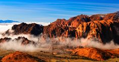 ~ Low Clouds ~ Snow Canyon State Park, Utah....
