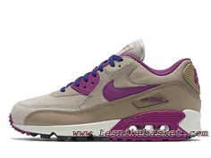 finest selection a1c03 551e0 Femme/enfant Nike Wmns Air Max 90 Lth Marron 768887-200 Chausport Nike Prix