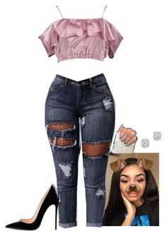 """silk / 11: 36 pm"" by trill-snow on Polyvore featuring Boohoo and Bloomingdale's"