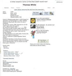 Thomas WHITE - View media - Ancestry.com