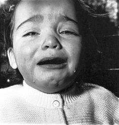 1967 A Child Crying, Diane Arbus