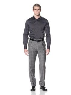 Hart Schaffner Marx Men's Glen Plaid Trouser