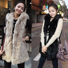 Korean Style Hooded Coats Sleeveless Vest Women's Outerwear