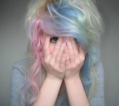 Pastel with Blonde. Adorable!