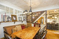 445 west CO, Telluride. Colorado, Home And Family, Real Estate, Interiors, Dining, Luxury, Kitchen, Table, House