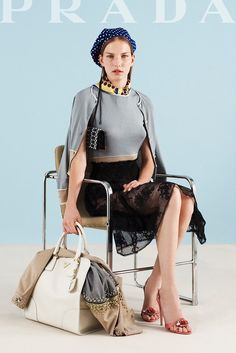 Prada Resort 2012 Fashion Show Collection