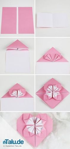 We've always wanted to build origami shapes, but it looked too hard to learn. Turns out we were wrong, we found these awesome origami shapes. Origami Rose, Origami Ball, Origami Paper Folding, Origami Star Box, Modular Origami, Origami Flowers, Origami Instructions, Origami Tutorial, Kirigami