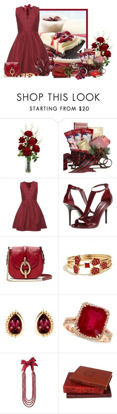 """Untitled #708"" by mona07 ❤ liked on Polyvore featuring Nearly Natural, McQ by Alexander McQueen, Burberry, Diane Von Furstenberg, GUESS, Susan Caplan Vintage, Effy Jewelry, Toast, Le Creuset and OKA"