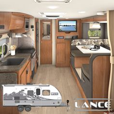 Make camp at the drop of the dime with the lightweight Lance 1985. Tow this travel trailer is easily towable, and features a full bathroom, an entertainment center, an available sofa-bed, and more. Plan out your next purchase at #lancecamper Lance Campers, Travel Trailers, Entertainment Center, Sofa Bed, Kitchen Cabinets, Drop, Bathroom, Home Decor, Sleeper Couch