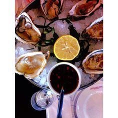 #oysters #fruitsdemer #hotel #new #york #rotterdam Photo: @missmonica2015