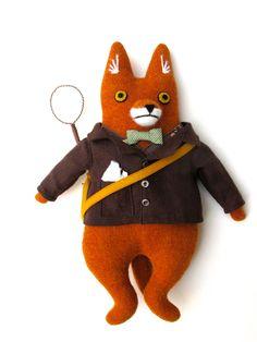 Mimi Kirchner fox doll