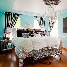 Breakfast at Tiffany's bedroom!!!