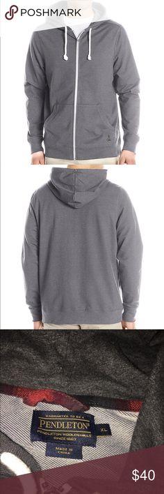 Pendleton men's hoodie sweatshirt Worn once, washed once. In perfect condition. Zip up hoodie sweatshirt. Pendleton Shirts Sweatshirts & Hoodies