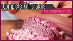 Free Knife Skills Class from Craftsy. Master the most important tool in your kitchen and cut prep time in half with this FREE mini class!