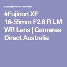 #Fujinon XF 16-55mm F2.8 R LM WR Lens | Cameras Direct Australia