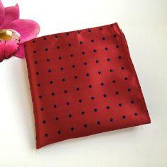 Men's Business Suits Pocket Square Handkerchiefs Polka Dots