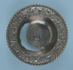 Bowl; 4th c Romano-British; Found: Mildenhall, Suffolk, England; silver