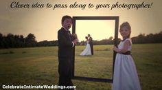 Pass this idea to your photographer!