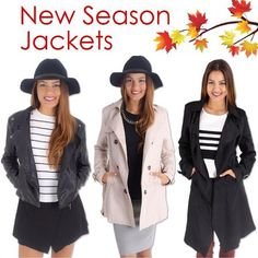 Check out all the Autumn Jackets at redthread7.com.au Shop ✔…