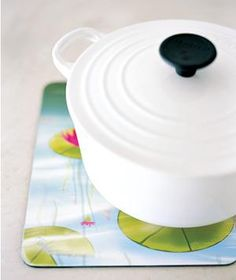 Mouse Pad as Trivet | New roles for items that can help you get dinner on the table.