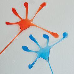 Novelty Gag Toy Elastic Stretchy Sticky Palm Climbing Tricky Hands Party HOT