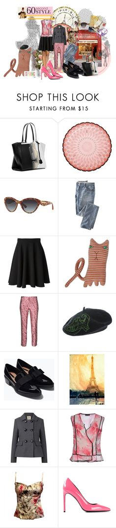 """""""60 second style Paris bound."""" by dawn-lindenberg ❤ liked on Polyvore featuring Magdalena, Fendi, Kartell, Dolce&Gabbana, GINTA, Donna Wilson, Trēs Chic S.A.R.T.O.R.I.A.L., John Galliano, Zara and Marta Bevacqua"""