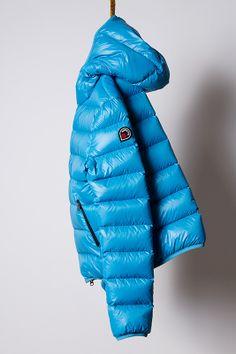 piumino cobalt, light down jacket Goose Feel