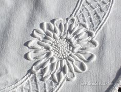 Vintage linen with coronation cord