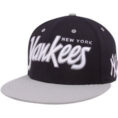 ef203705e0d  47 Brand New York Yankees Navy Blue-Gray Retro Script Snapback Adjustable Hat  Yankees
