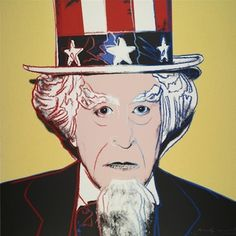 Warhol's rendition of Uncle Sam