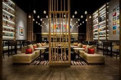 Our roundup of simply amazing restaurant spaces from         Interior Design        's most recently featured projects.