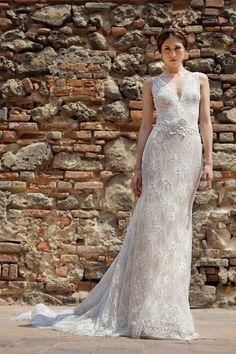 Constantina wedding dress | Francesca Miranda Fall 2014 Bridal Collection | Bajan Wed