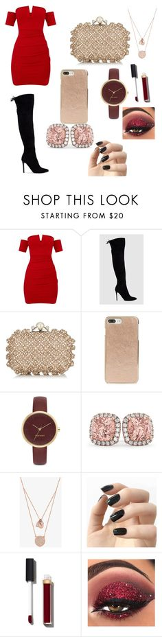 """Untitled #43"" by cori-dillinger on Polyvore featuring Jimmy Choo, Kate Spade, Nine West, Allurez, Michael Kors, Incoco and Chanel"