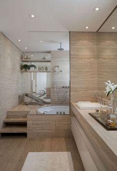 Awesome Plywood Bathroom Wall Design Ideas Modern House - Home Decor House, Bathroom Interior Design, Budget Bathroom Remodel, Home Remodeling, Best Bathroom Designs, Apartment Bathroom, Modern Bathroom, Apartment Decor, Small Remodel