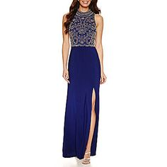 FREE SHIPPING AVAILABLE! Buy Jackie Jon Sleeveless Beaded Evening Gown at JCPenney.com today and enjoy great savings.