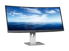 "Newegg.Com - Dell U3415W Black 34"" Curved LED Backlight Monitor 5ms GTG HDMI IPS 300 cd/m2 DC 2,000,000:1 (1000:1) Built-in Speakers"