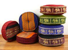 Sitzkissen / Mediationskissen aus Fernost - Asia Wohnstudio Chair Pads, Handmade