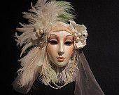 Designer Ceramic Prototype Masks   MasksByClaudiaCohen