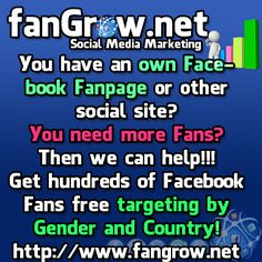 Getmorefacebookfans - Social Media Exchanger for Facebook Likes, Twitter Followers, Retweets, Pinterest Pins and Repins, LinkedIn Connections, Google 1s, Soundcloud Followers and YouTube Views