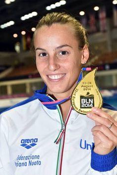 Berlino 2014, campionati europei di nuoto e di tuffi: Tania Cagnotto conquista la medaglia d'oro dal trampolino da un metro